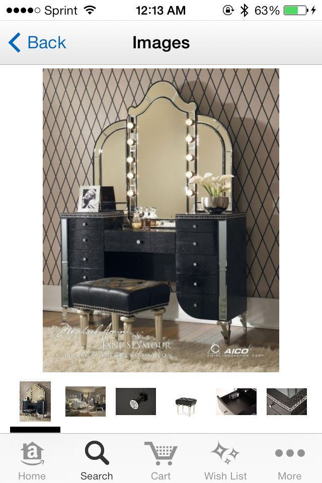 vanity table with lighted mirror 16th birthday wishlist