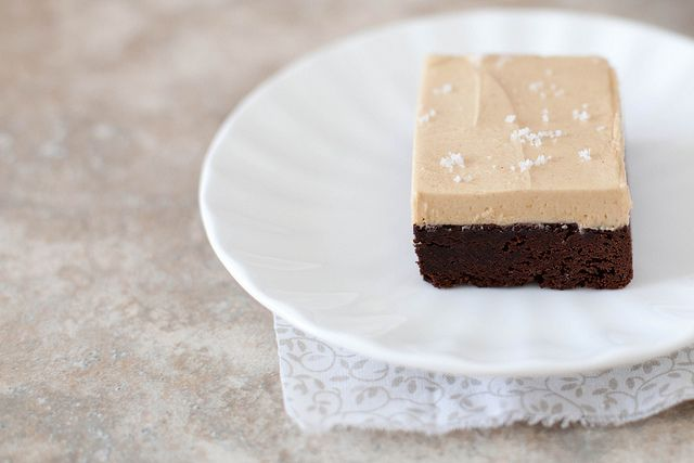 Fudge Brownies with Peanut Butter Frosting | Annie's Eats by ...