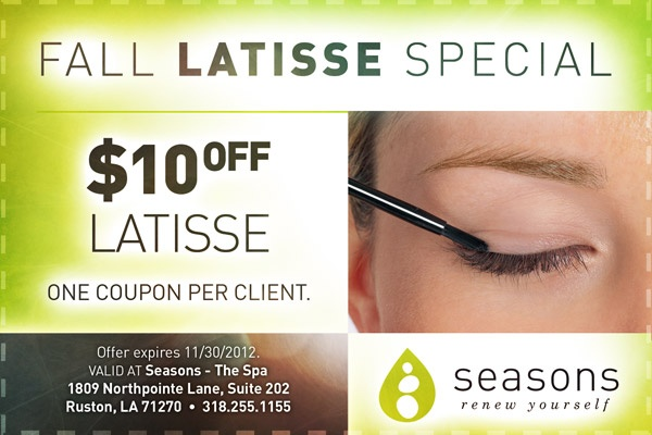 Latisse discount coupon