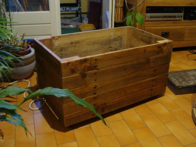 Coffre En Bois De Palette : Coffre en bois de palette Deco Pinterest