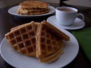 Waffles of Insane Greatness by Aretha Frankenstein's Restaurant