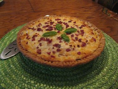 Summer of tomatoes: From Chef Jesse Concepts, pie for dinner!