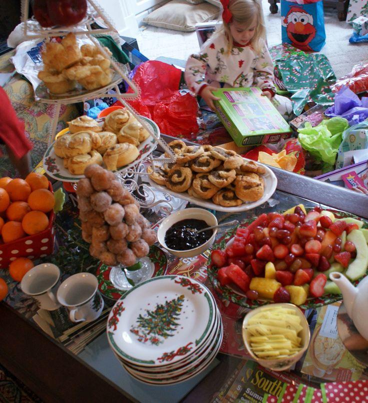 Christmas Breakfast setup   Puerto Rican recipes   Pinterest