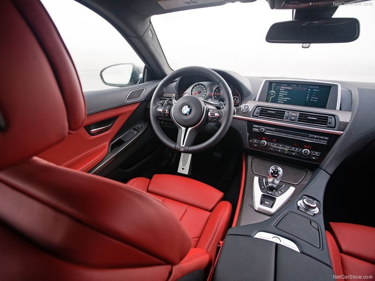 Bmw M6 Coupe Red Interior Red Pinterest