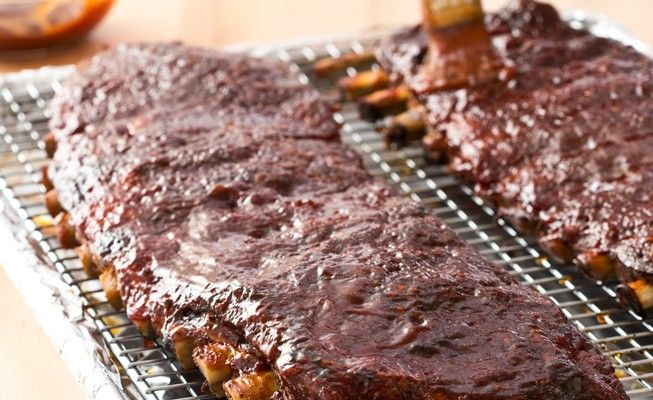 easy slow-cooker barbecue spare ribs | Food: Meals | Pinterest