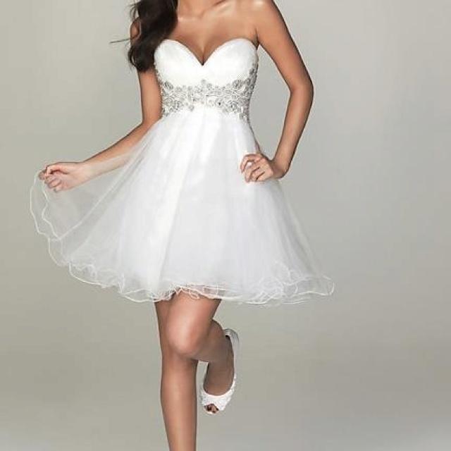 Puffy short dress