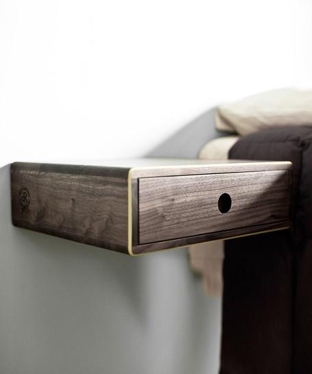 David Rasmussen. Hanging Bedside Table.  Furniture  Pinterest