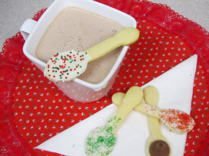 Sugar Cookie Spoon Dippers 1 | Recipes to try | Pinterest