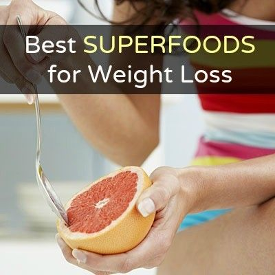 Best superfoods for weight loss list