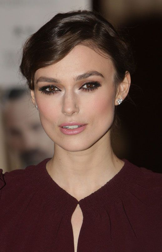 Keira Knightley - makeup brown eyes