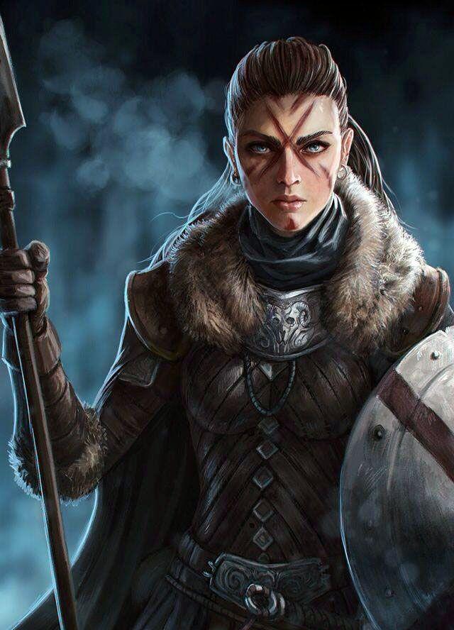 Nordic Warrior Female | Fantasy Art - Valkyries & Warriors ...