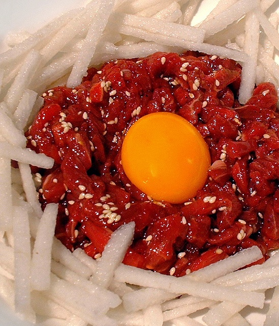 YookHwae (Korean Steak Tartare) | Recipe: Korean + | Pinterest