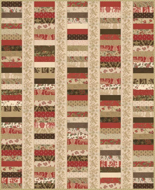 Strip Quilting Patterns Free : Pin by Denise Fox Eskridge on quilts Pinterest