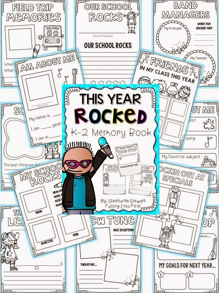 end of year memory book pdf