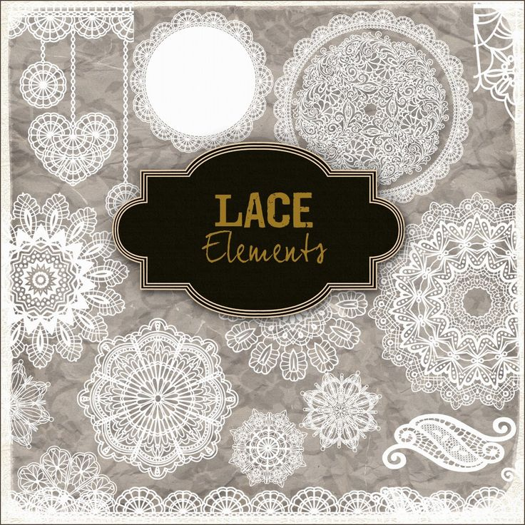 More free lace elements