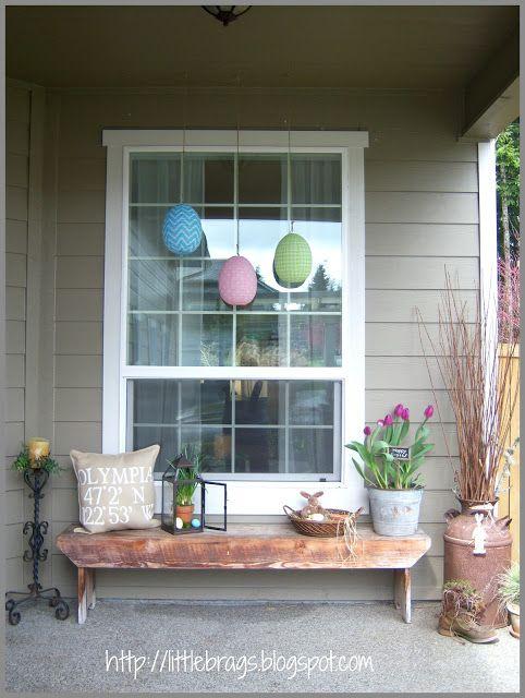 Cute ideas for spring porch easter spring ideas pinterest for Cute porch ideas