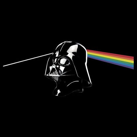 Join the Dark Side of the Moon T-Shirt by Sinclair Moore for Red Bubble: @Evan Sharp $23.94. #T_Shirt #Star_Wars #Sinclair_Moore