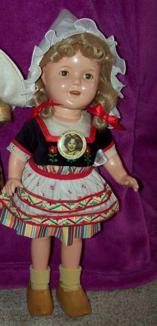 Shirley Temple doll as HeidiShirley Temple Heidi Doll