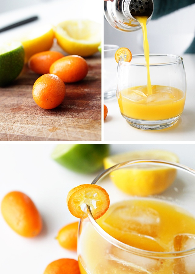 Kumquat Sour w/ honey-sweetened homemade sour mix -- by @Dulcie (Two ...