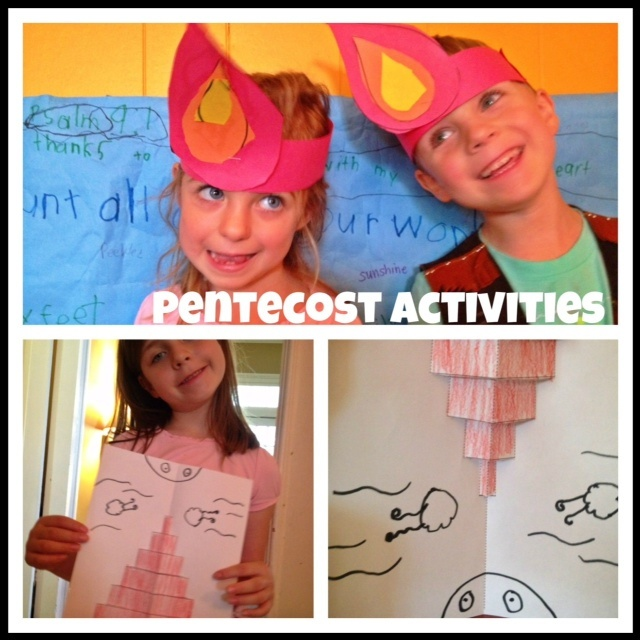 pentecost activities sunday school