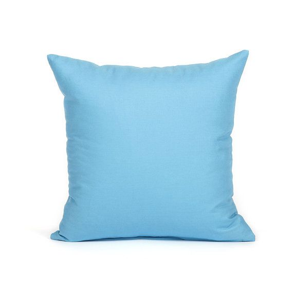 Sky Blue Decorative Pillows : 20