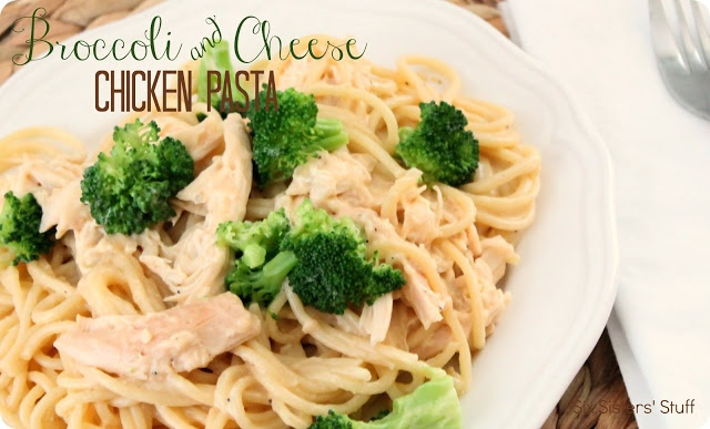 Broccoli and Cheese Chicken Pasta | Food and Drink | Pinterest