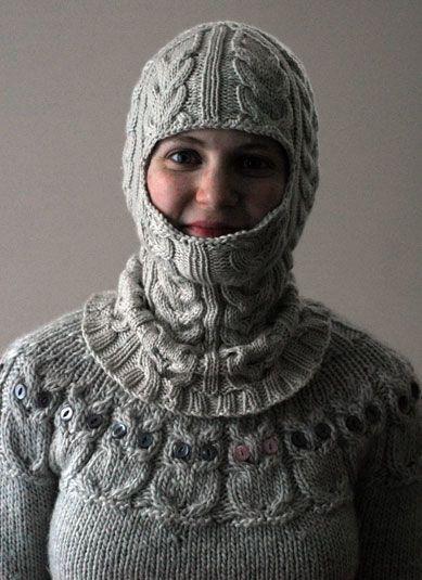 Knitting Pattern For A Balaclava : knitting neels   FO: Balaclava Crochet or Knit Pinterest