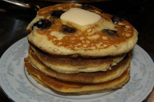 Blueberry buttermilk Pancakes | Low Carb Cooking | Pinterest
