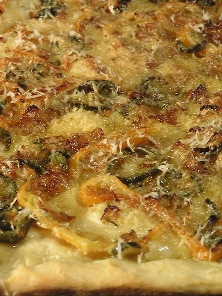 Meyer lemon pizza (also as bread dough) | food | Pinterest
