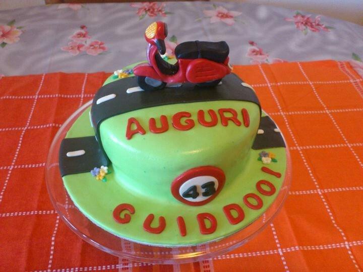 Pin Vespa Birthday Cake Topper Ebay Cake on Pinterest