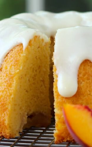 Peaches And Cream Bundt Cake Recipe — Dishmaps