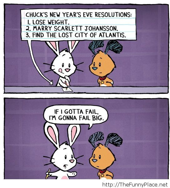 Funny new year resolutions 2014