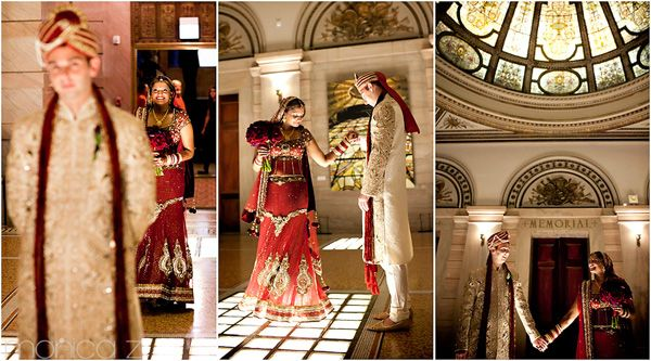 Chicago Cultural Center | My Indian Wedding | Pinterest