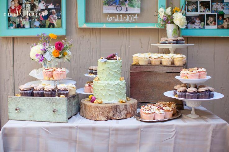 Cupcake Wedding Cake Photos
