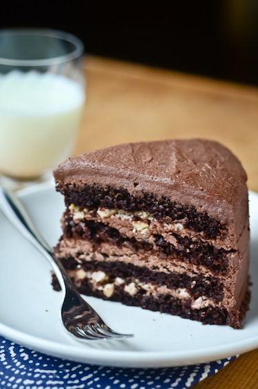 chocolate malt cake | Chocolate! | Pinterest