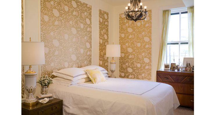 wallpaper accent walls bedrooms dream decor pinterest