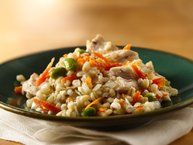 Slow Cooker Sweet Potato and Barley Risotto Recipe from Betty Crocker