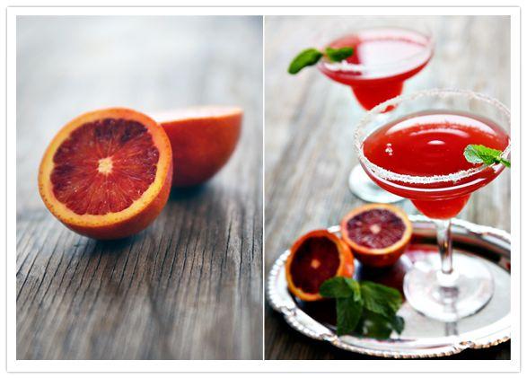 Blood Orange Mezcal Margarita! | Creative Cocktails | Pinterest
