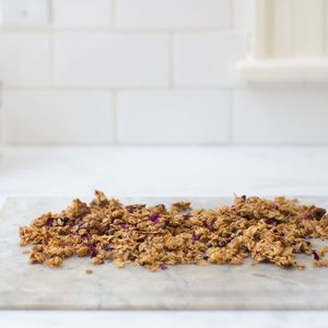 in bed just got even more romantic! Dried rose petals turn granola ...