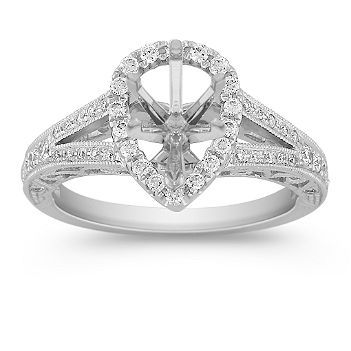 Rasmussen Split Shank Engagement Rings