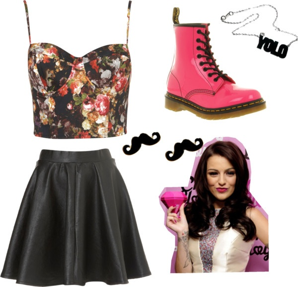 """Cher Lloyd inspired performing outfit! x"" by fashion1dxx ❤ liked on Polyvore"