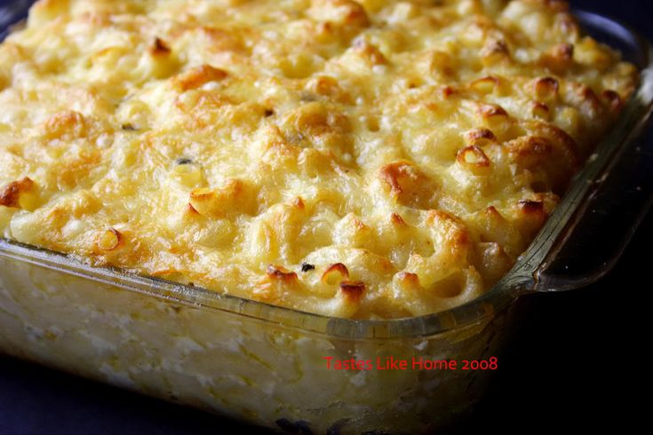 tastes like home: Macaroni Pie - It's not ordinary