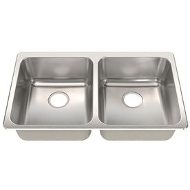 Frank Usa Sink : Franke USA FrankeUSA 18-Gauge Double-Basin Drop-In or Undermount Stai ...