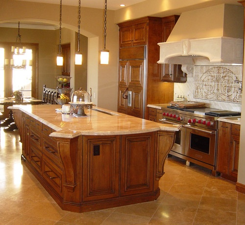 Norman  traditional  kitchen  orange county  Wood Classics, Inc