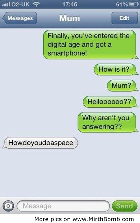 Funny Iphone Conversations