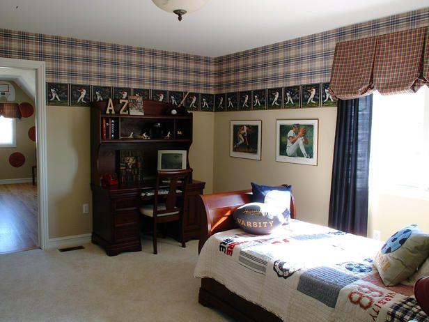 Baseball theme room kid s room pinterest for Baseball bedroom ideas