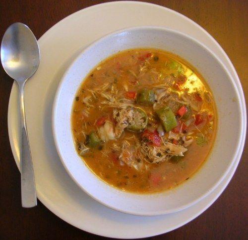 Spicy Stew with Chicken, Shrimp & Okra | Recipes | Pinterest
