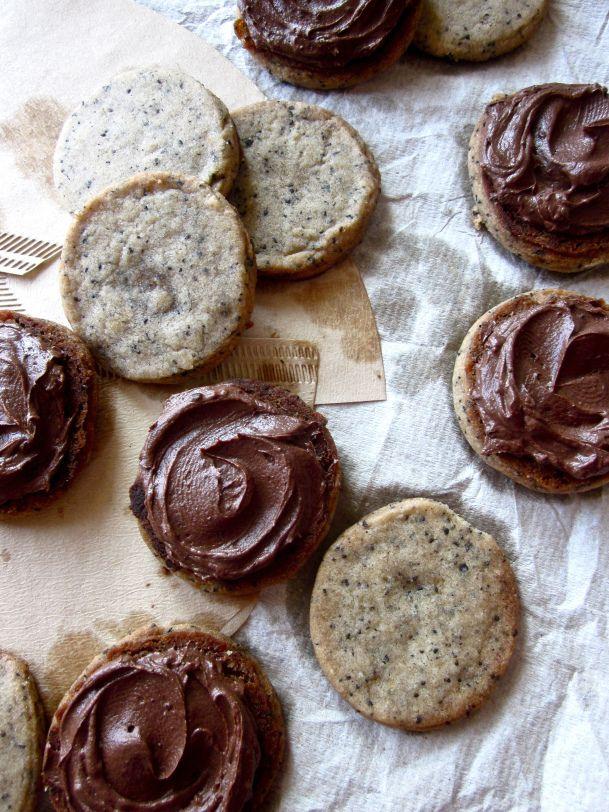 vegan mocha shortbread cookies | healthy... ish deserts | Pinterest