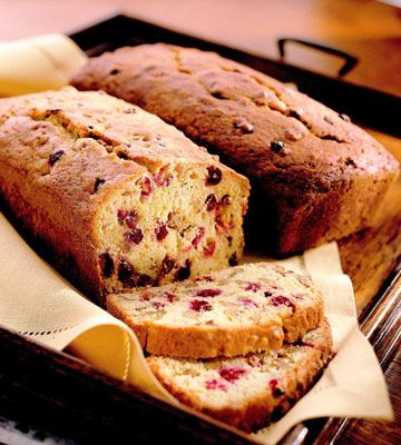 Cranberry Bread ♥ #Christmas #Holidays
