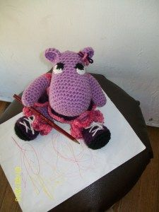 Amigurumi Crochet Patterns | Robin the Hippo Amigurumi